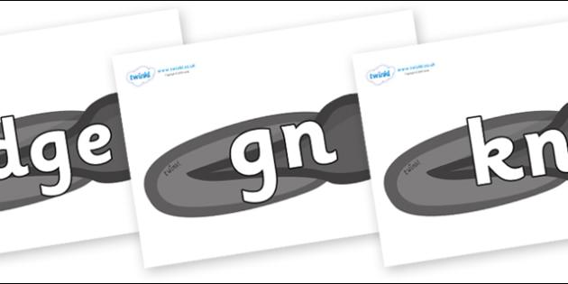 Silent Letters on Tadpoles - Silent Letters, silent letter, letter blend, consonant, consonants, digraph, trigraph, A-Z letters, literacy, alphabet, letters, alternative sounds
