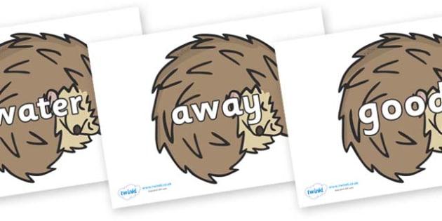 Next 200 Common Words on Hedgehogs - Next 200 Common Words on  - DfES Letters and Sounds, Letters and Sounds, Letters and sounds words, Common words, 200 common words