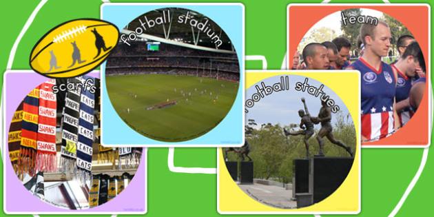 Australian Football League Display Photo Cut Outs - AFL, sport