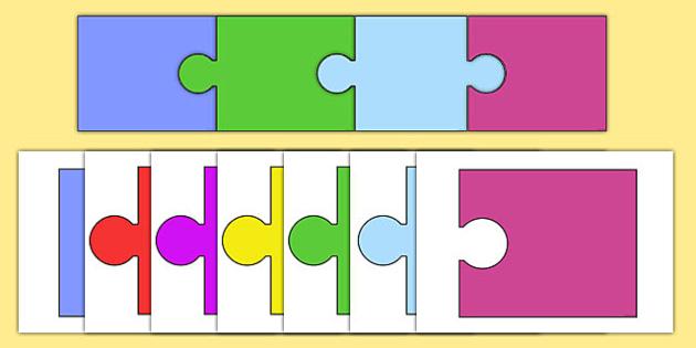 Editable Jigsaw Pieces - editable, jigsaw pieces, activity, jigsaw, edit