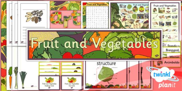 PlanIt - Art LKS2 - Fruit and Vegetables Unit Additional Resources