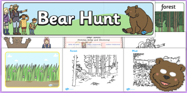Childminder Bear Hunt Resource Pack - We're Going on a Bear Hunt, activities