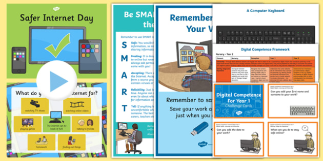 Digital Competence for Year 1 Resource Pack-Wales