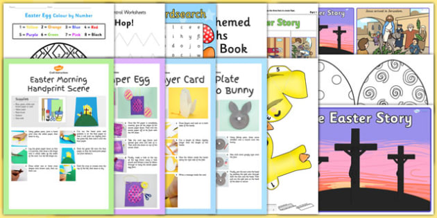 Top 10 Easter Resource Pack - top 10, easter, resource pack, resource, pack