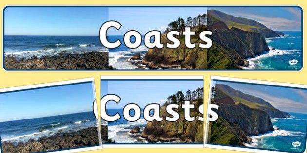 Coasts Photo Display Banner - coast, display banner, photo, display