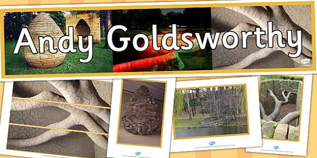 Andy Goldsworthy Display Pack - andy goldsworthy, display pack