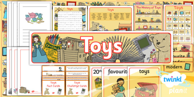 PlanIt - History KS1 - Toys Unit: Additional Resources