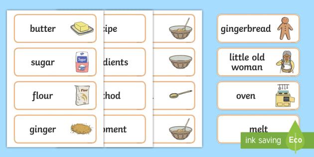 gingerbread man recipe - The Gingerbread Man Activities Primary Resources, Activities