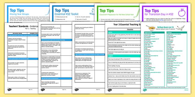 Teaching in Y3 Resource Pack