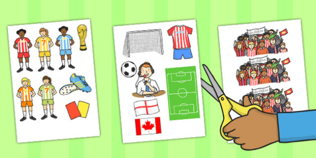 Womens Football World Cup 2015 Display Cut Outs - football, 2015