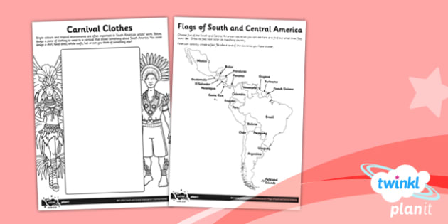 PlanIt - Art UKS2 - South and Central American Art Unit Home Learning Tasks