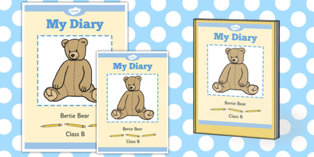 Editable Class Toy Book Cover - editable, class toy, diary, cover