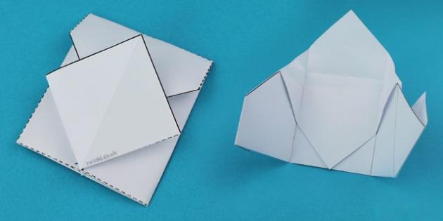 Interactive Notebook Interlocking Envelope - notebook, envelope
