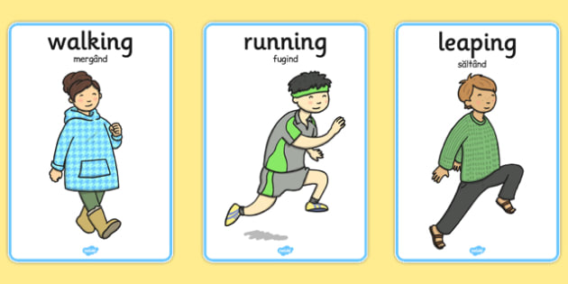 PE Physical Action Cards Romanian Translation - romanian, cards