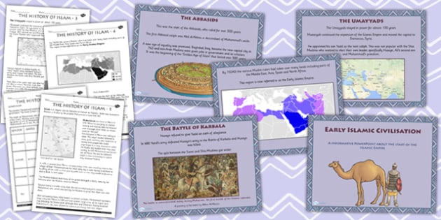The Early Islamic Civilisation Lesson Teaching Pack - history