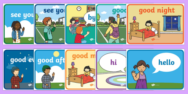 English Greetings Display Posters - english, greeting, display posters, display, posters, greet
