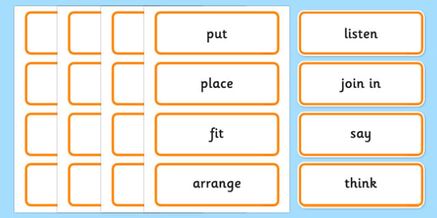 Maths Instructions Word Cards - maths instructions, word cards, maths instructions word cards, maths word cards, word cards, maths