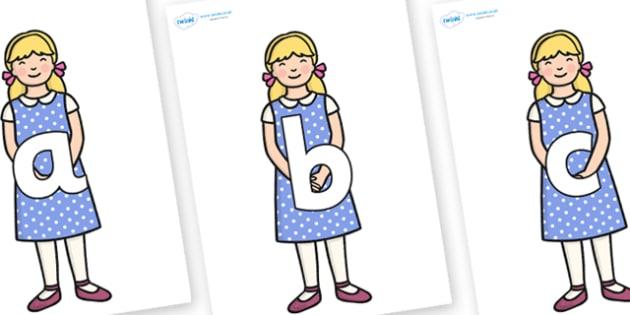 Phoneme Set on Goldilocks - Phoneme set, phonemes, phoneme, Letters and Sounds, DfES, display, Phase 1, Phase 2, Phase 3, Phase 5, Foundation, Literacy