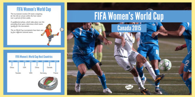 FIFA Women's World Cup PowerPoint - fifa, women, world cup, cup