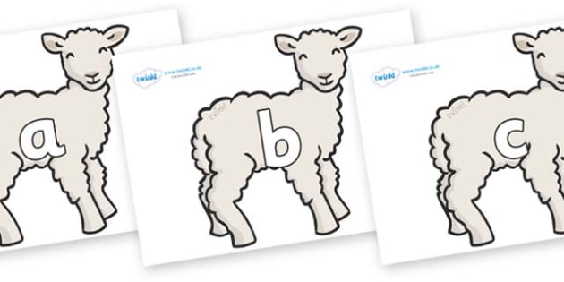 Phase 2 Phonemes on Lambs - Phonemes, phoneme, Phase 2, Phase two, Foundation, Literacy, Letters and Sounds, DfES, display