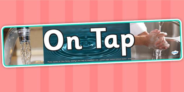 On Tap IPC Photo Display Banner - on tap, IPC display banner, IPC, on tap display banner, IPC display, tap display banner, photo display banner