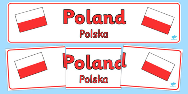 Poland Display Banner Polish Translation - polish, Poland, Olympics, Olympic Games, sports, Olympic, London, 2012, display, banner, sign, poster, activity, Olympic torch, flag, countries, medal, Olympic Rings, mascots, flame, compete, events, tennis,