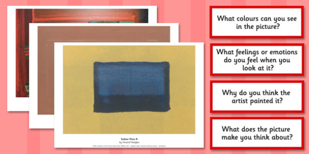 Howard Hodgkin Photopack and Prompt Questions - photopack, hodgkin