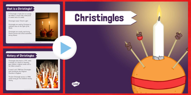 Christingle PowerPoint - christingle, powerpoint, christmas, orange, candles
