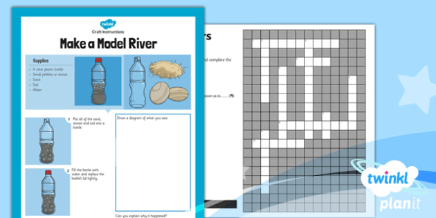 PlanIt - Geography Year 6 - Raging Rivers Unit Home Learning Tasks