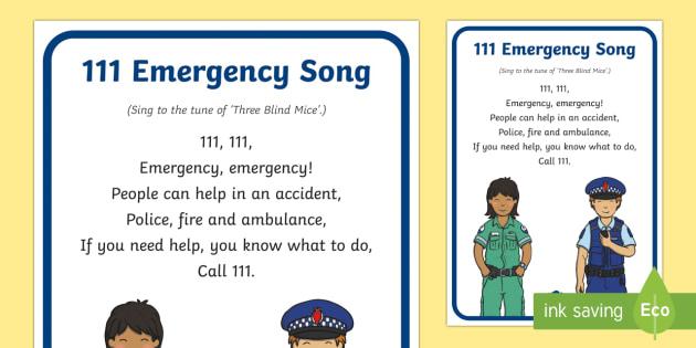 New Zealand 111 Emergency Song - New Zealand Natural Disasters, earthquake, tsunami, volcano, monsoon, hurricane, flood, tornado, eme