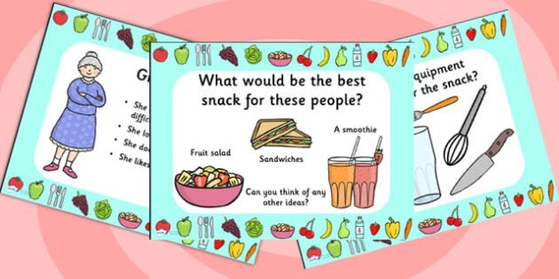 Snack Design PowerPoint - design, snack design, powerpoint, design powerpoint, discussion prompt, discussion starters, creative thinking, art, crafts