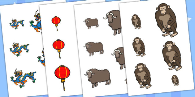 Chinese New Year Size Ordering Differentiated