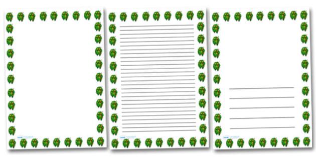 Posy Of Flowers Portrait Page Borders- Portrait Page Borders - Page border, border, writing template, writing aid, writing frame, a4 border, template, templates, landscape