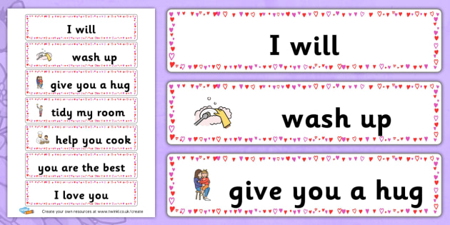 Mothers Day Labels - Mother's Day Activities Primary Resources, Mother, day, fun