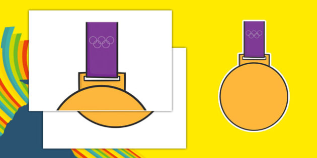 Olympic Display Gold Medal - usa, america, olympics, 2016 olympics, rio 2016, rio olympics, display, gold medal
