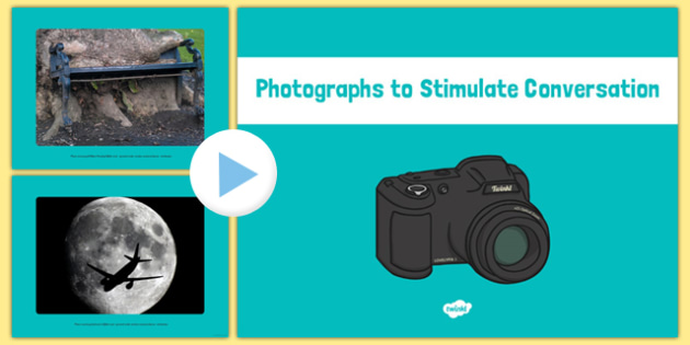 Photographs to Stimulate Conversation PowerPoint - EYFS planning, Early years activities, PSHE, Speaking and listening, snack table talking
