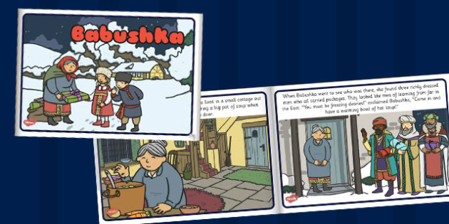 Babushka eBook - story, stories, books, reading, read, storybooks