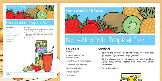 Pancake Day Non Alcoholic Drink Recipe - Elderly, Reminiscence, Care Homes, Pancake Day