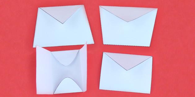Interactive Notebook Envelope Pack - craft, paper craft, design