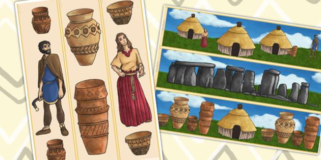 Bronze Age Display Borders - bronze age, history, history display