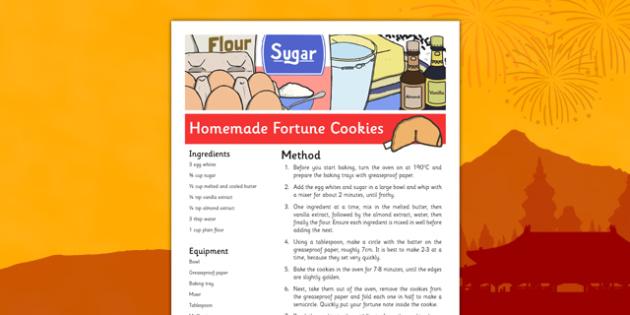 Homemade Fortune Cookies Recipe - homemade, fortune cookies, recipe, fortune, cookies