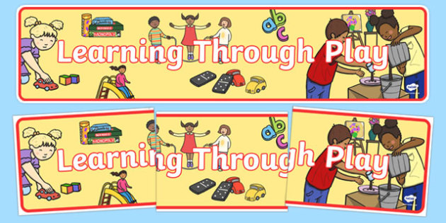 Learning Through Play Display Banner - Classroom Area Signs, role play area, KS1, Banner, Foundation Stage Area Signs, Classroom labels, Area labels, Area Signs, Classroom Areas, Poster, Display, Areas, Role Play