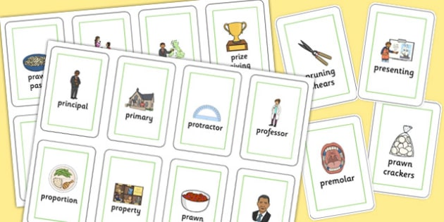 Three Syllable PR Flash Cards - speech sounds, phonology, articulation, speech therapy, cluster reduction, clusters, blends