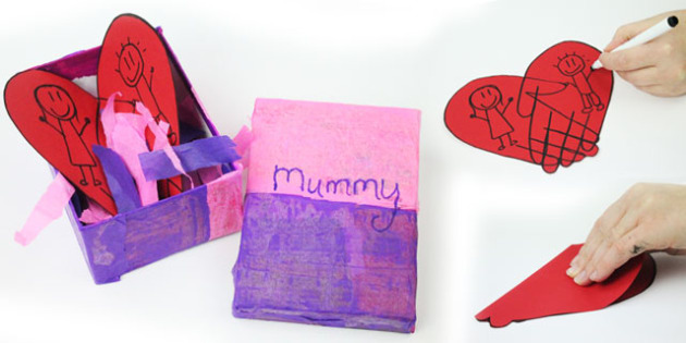 Australia Box of Love Mother's Day Craft Activity with Instructions