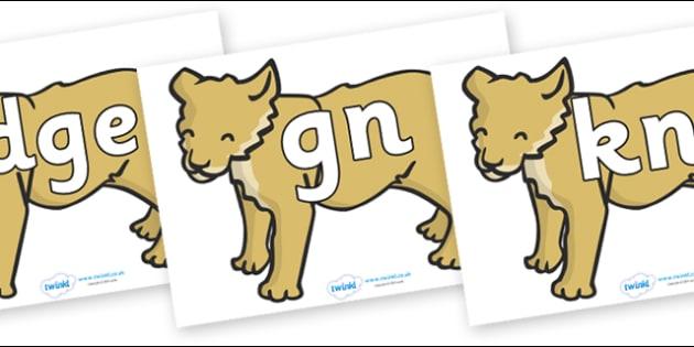 Silent Letters on Puppy - Silent Letters, silent letter, letter blend, consonant, consonants, digraph, trigraph, A-Z letters, literacy, alphabet, letters, alternative sounds