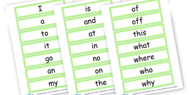 Tricky Words Cards - Tricky Words Visual Aids Primary Resources, education, home school