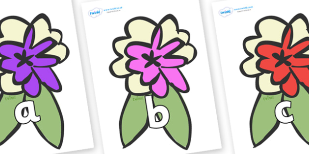 Phase 2 Phonemes on Corsages - Phonemes, phoneme, Phase 2, Phase two, Foundation, Literacy, Letters and Sounds, DfES, display
