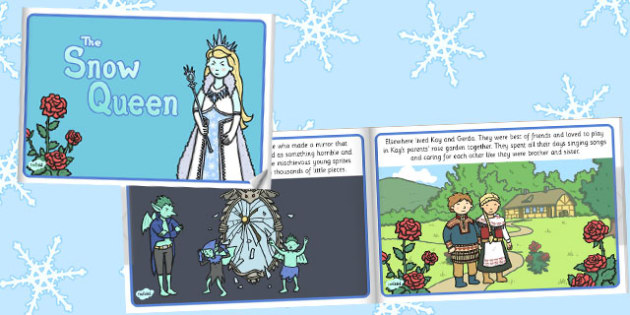 The Snow Queen eBook - snowing, storybooks, stories, reading