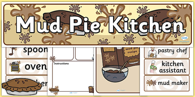 Mud Pie Kitchen Pack - mud pie, kitchen, mud pie kitchen, pack