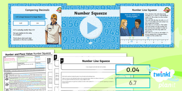 PlanIt Y6 Number and Place Value Lesson Pack Comparing and Ordering Numbers (2) - Number, Place Value, decimal, order, compare, greater, less.